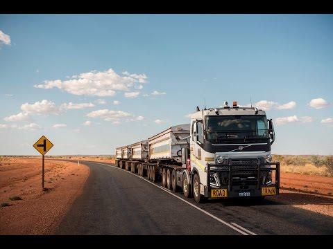 Volvo Trucks - 175 tonnes road train through the Australian outback - Drivers World (E08)