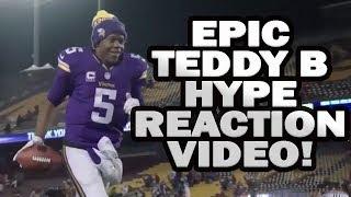 VIKINGS FAN REACTS TO EPIC TEDDY B VIDEO!