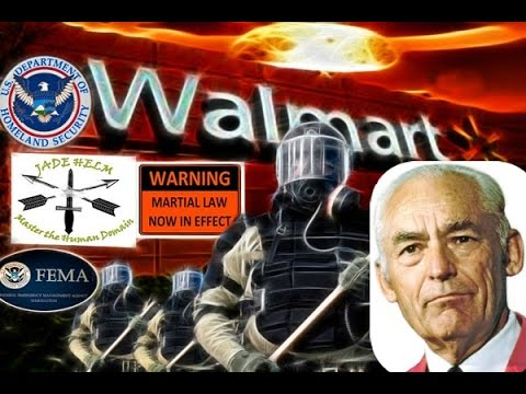 Jade Helm FEMA Camps: Walmart Founder Sam Walton TRUTH EXPOSED! (Rhema word)