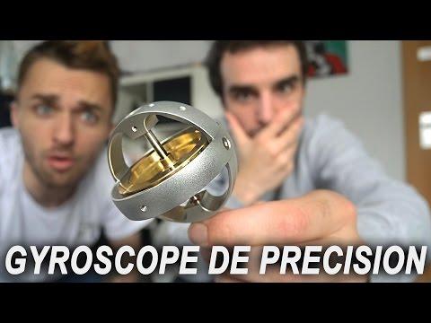 CET OBJET EST BIEN TROP ÉTONNANT ! (gyroscope de précision)