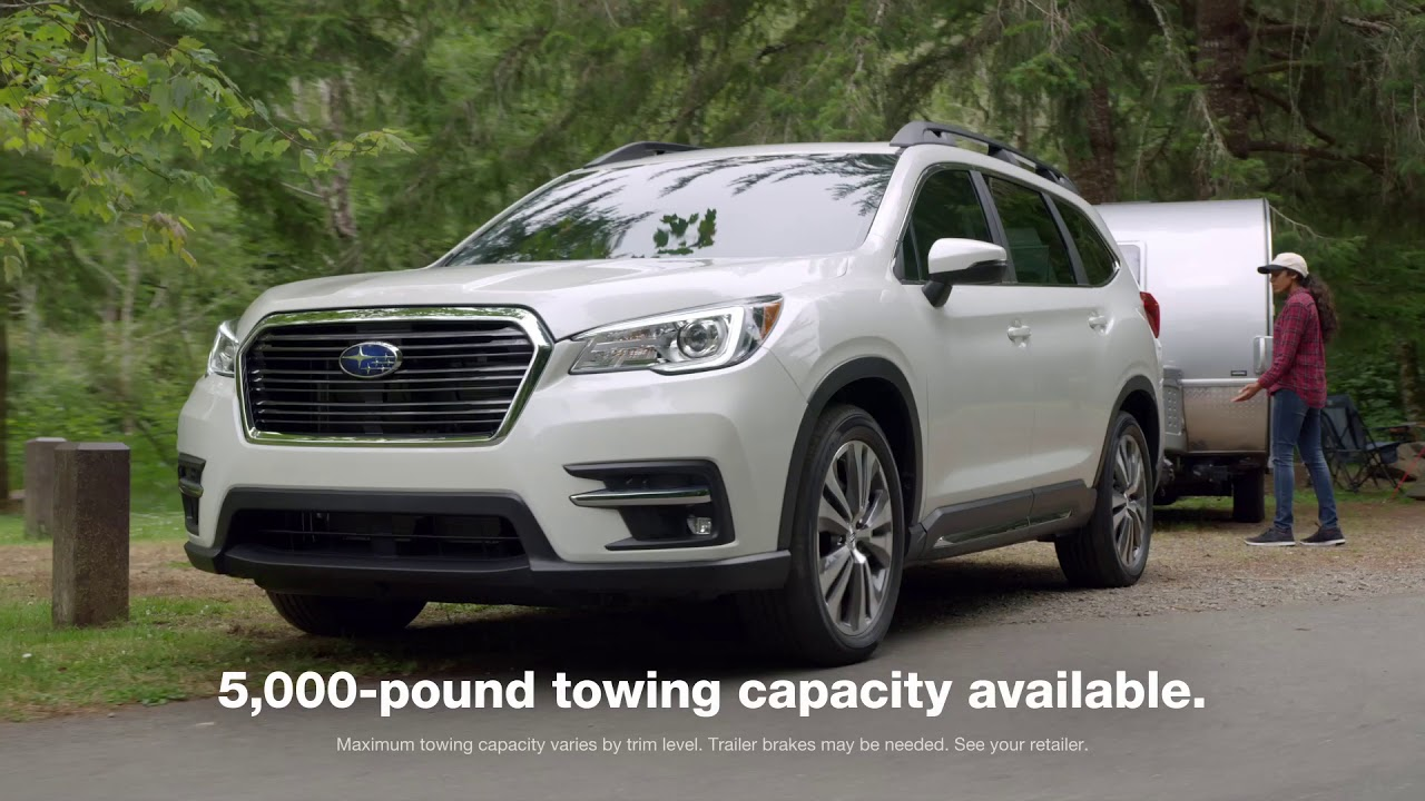 the all new 3 row 2019 subaru ascent suv youtube. Black Bedroom Furniture Sets. Home Design Ideas