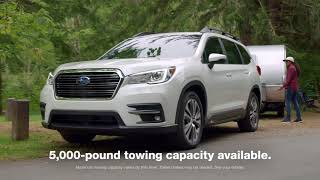 The All-New 3-row 2019 Subaru Ascent SUV
