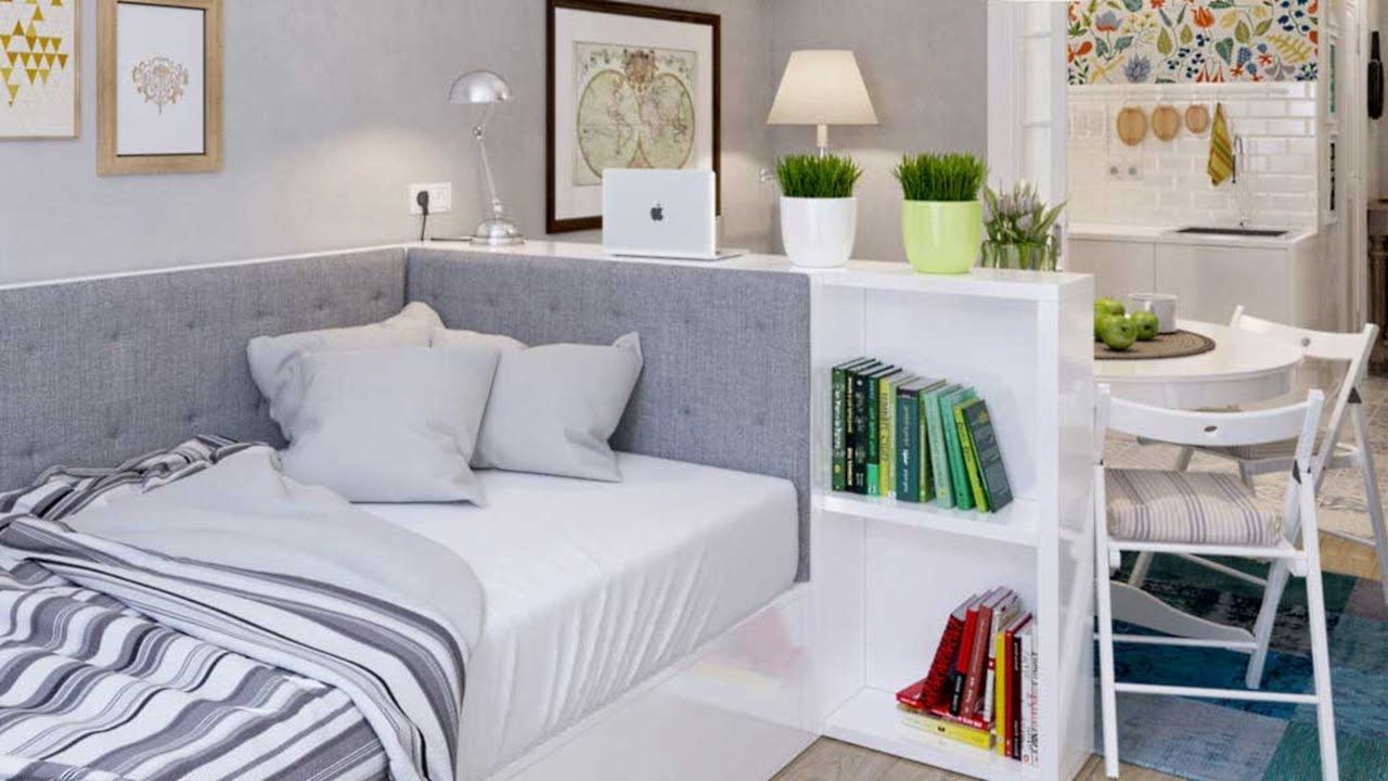Interior Design Small Studio Apartment 42 Ideas Part 2
