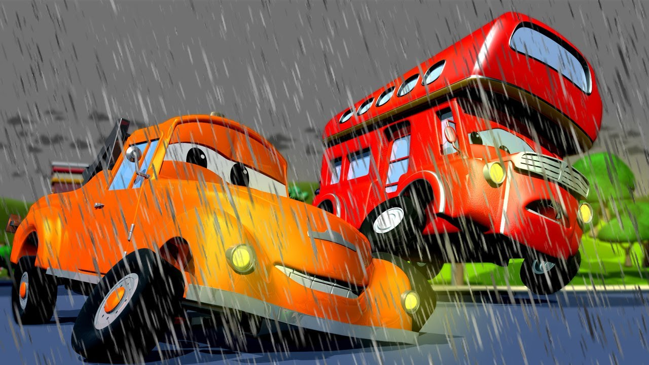 Xe tải kéo Tom -  Denver xe buýt 2 tầng 2 - Thành phố xe