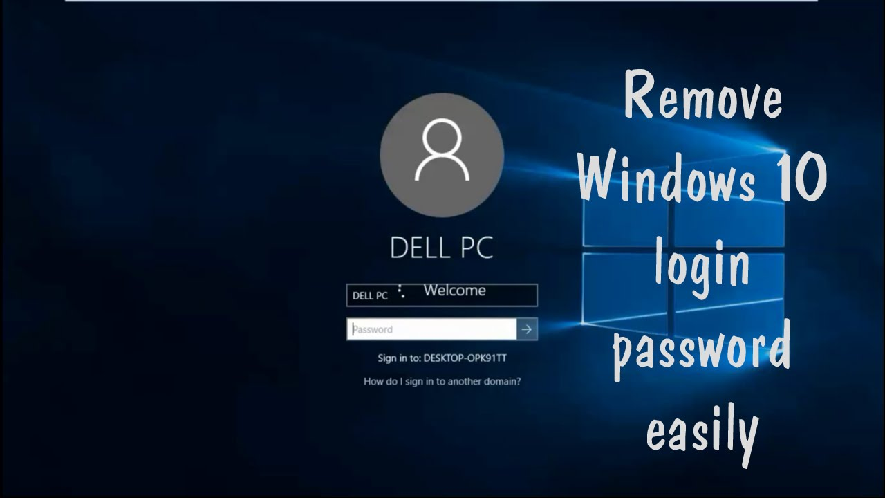 How to Remove Login Password from Windows 10 and Windows 8