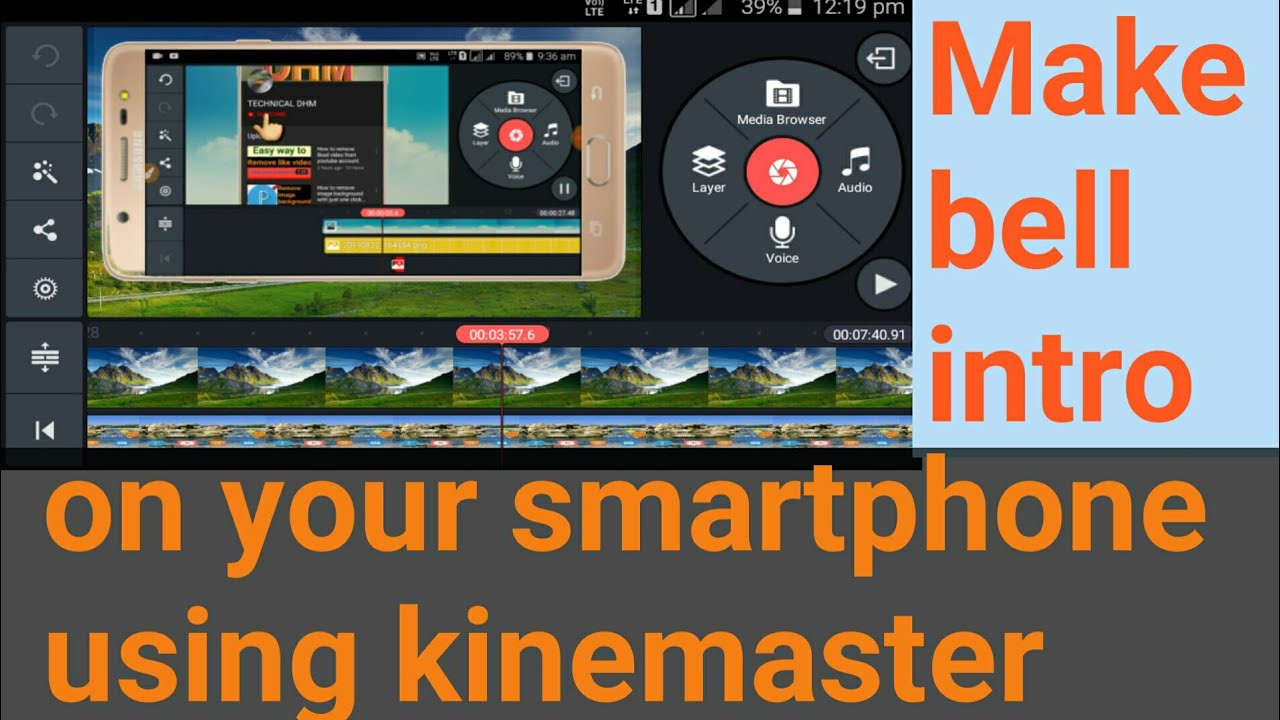 Download How to make Subscribe and Bell icon Intro on smartphone|Step by step Tutorial using kinemaster