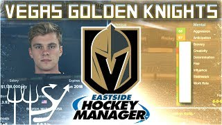 We're Merrill-y Vegas Bound! | Golden Knights Eastside Hockey Manager - Ep. 1