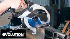 """Evolution EVOSAW180HD: 180mm (7-1/4"""") Steel Cutting Circular Saw"""