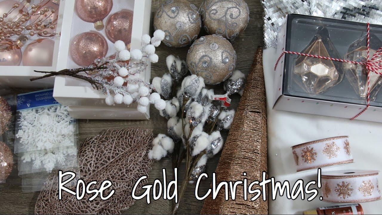 Rose Gold Copper Christmas Home Decor Haul 2