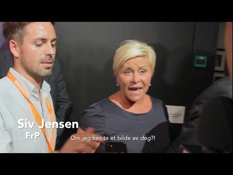 Valg 2017: Avvist av Siv Jensen