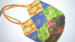 Gambar cover DIY AWESOME SHOULDER SHOPPING BAG / शॉपिंग बैग  नए पैटर्न  पर  सीखें