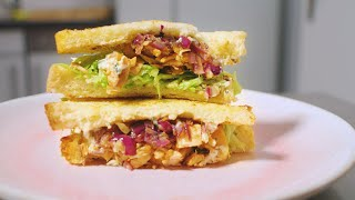 Truthahn-Restl-Sandwich I Was isst man, wenn man in den Weihnachtsfeiertagen nicht einkaufen kann?