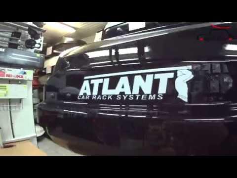 Автобоксы на крышу. Видеообзор автобокса ATLANT Diamond 430л 184-80-44см