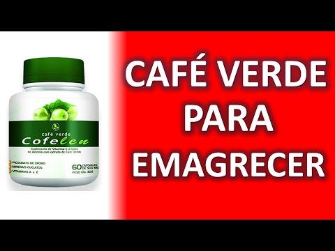 Capsulas de cafe verde para bajar de peso