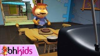 Phim Hoạt Hình 3D Hài Hước - Cười Đau Bụng || Khi Sư Tử xem tivi