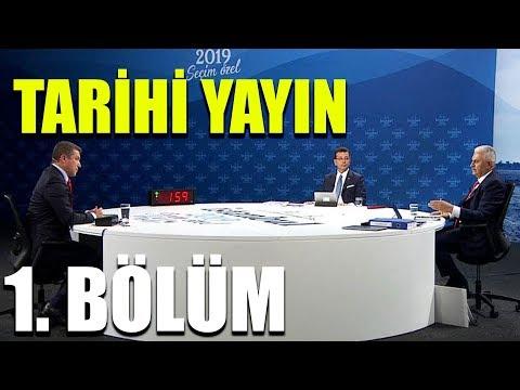 Ekrem İmamoğlu ile Binali Yıldırım ortak yayını / 1. Bölüm