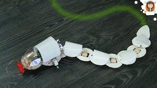 Como fazer uma Cobra Robô - Desvia de Obstáculos
