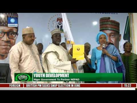 News Across Nigeria: Niger, NEPAD On Youth Development