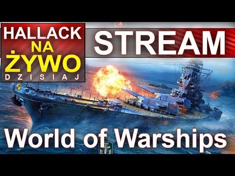 Hallack na żywo - World of Warships