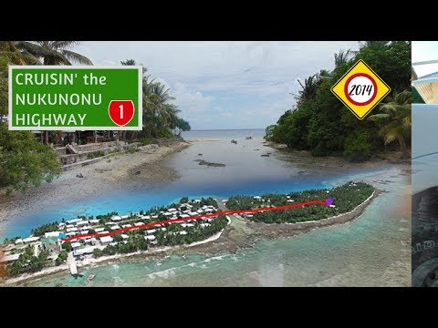 RIDING THROUGH NUKUNONU, TOKELAU