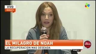 Luisana Lopilato habla sobre la enferedad de su hijo Noah