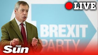 WATCH LIVE: Nigel Farage speech at The Brexit Party Election Tour in Hull
