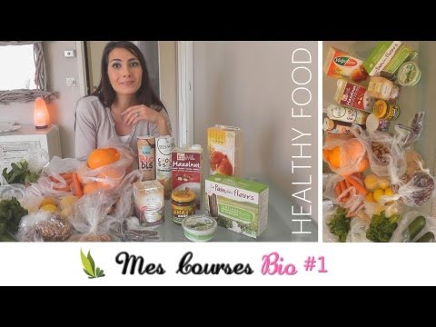 ALIMENTATION SAINE #3 Mes Courses en Magasin BIO