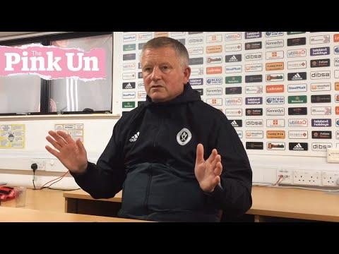 Sheffield United boss Chris Wilder on Norwich City fallout