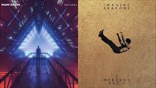 Naturally Dull Knives (mashup) - Imagine Dragons