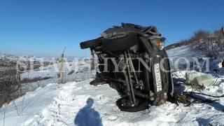 Խոշոր ավտովթար Տավուշի մարզում  УАЗ ը 100 մ գլորվելով՝ հայտնվել է ձորում