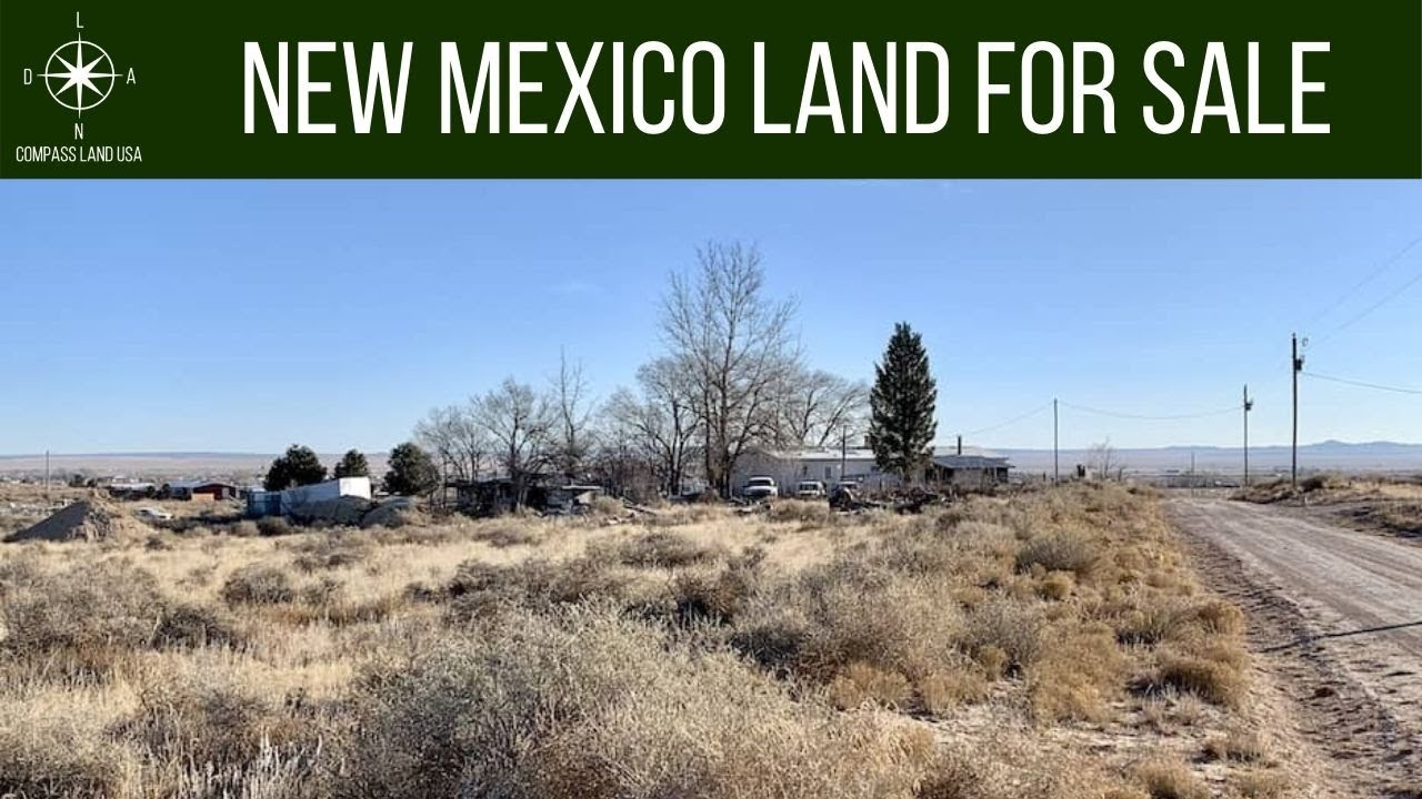 SOLD - 1 Acres - RV Ok, with Power! In Moriarty, Torrance County NM (Continuous parcels)