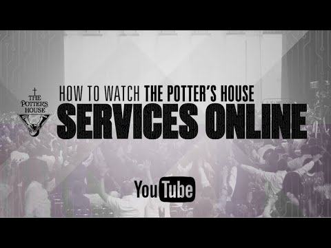 How To Stream Online via YouTube | T.D. Jakes Ministries
