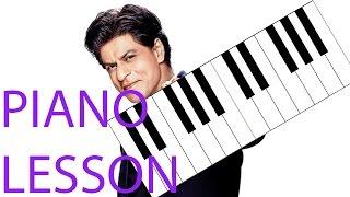 Hindi Piano Lesson | Zaalima | Raees - Shah Rukh Khan & Mahira Khan | Arijit Singh & Harshdeep Kaur