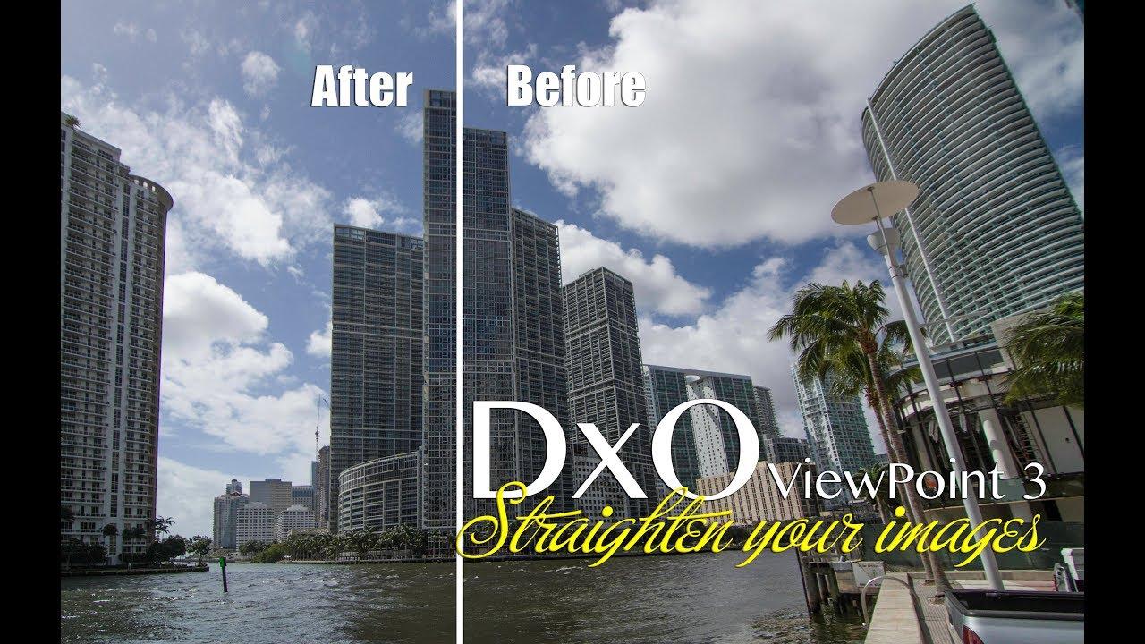 dxo viewpoint tutorial