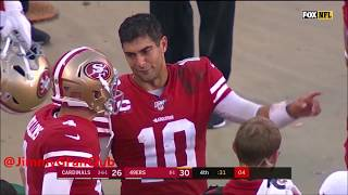 Jimmy Garoppolo - 4th Quarter Comebacks & Game Winning Drives -  San Francisco 49ers 2019 NFL Season