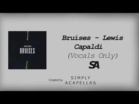 Bruises - Lewis Capaldi (Acapella - Vocals Only)