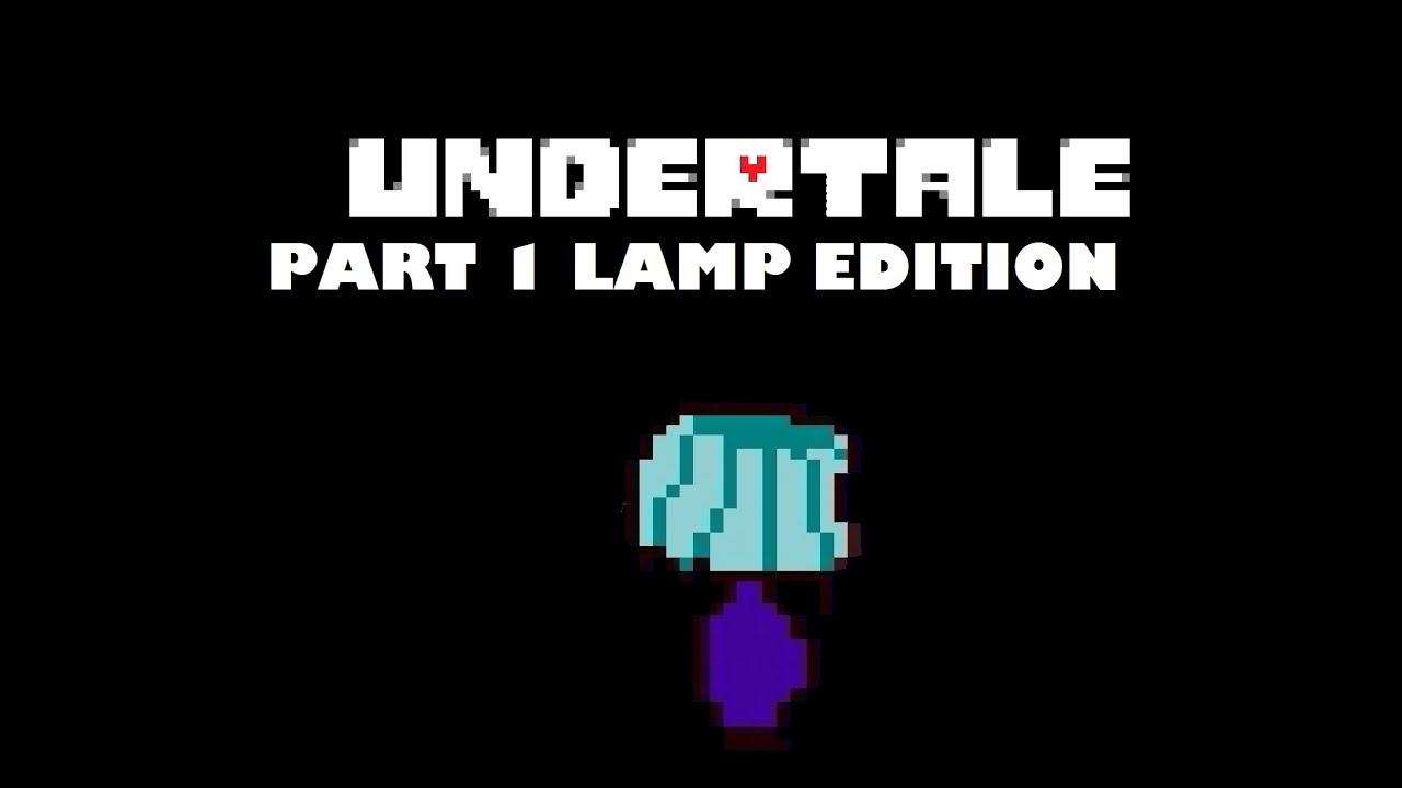 Hiding behind lamps| Undertale part 1 - YouTube