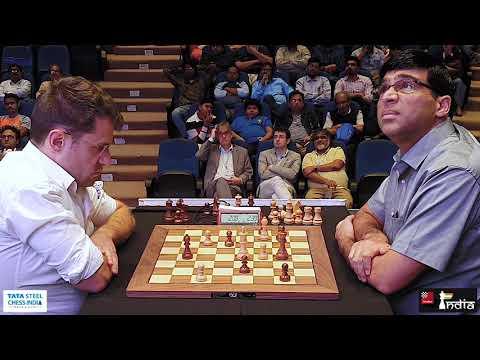 Levon Aronian vs Vishy Anand | Tata Steel Chess India Blitz 2019