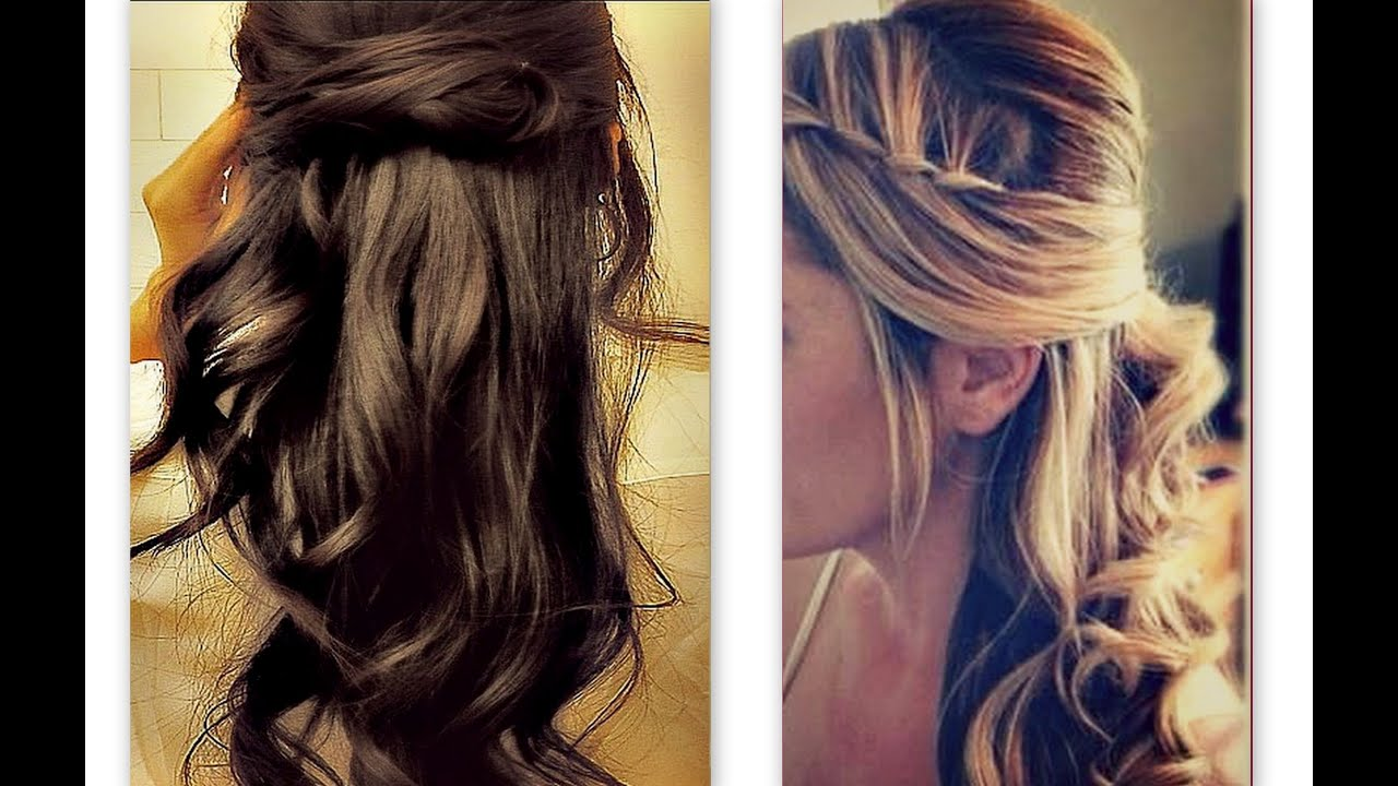 ☆hair tutorial cute hairstyles with twist waterfall braid for