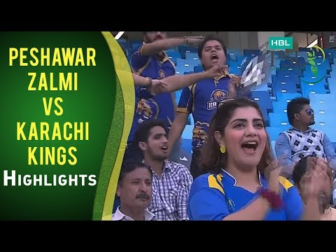 Match 19: Peshawar Zalmi vs Karachi Kings - Highlights