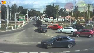 ДТП, пос  Быково, железнодорожный переезд, 07 09 2014  ДТП авария1