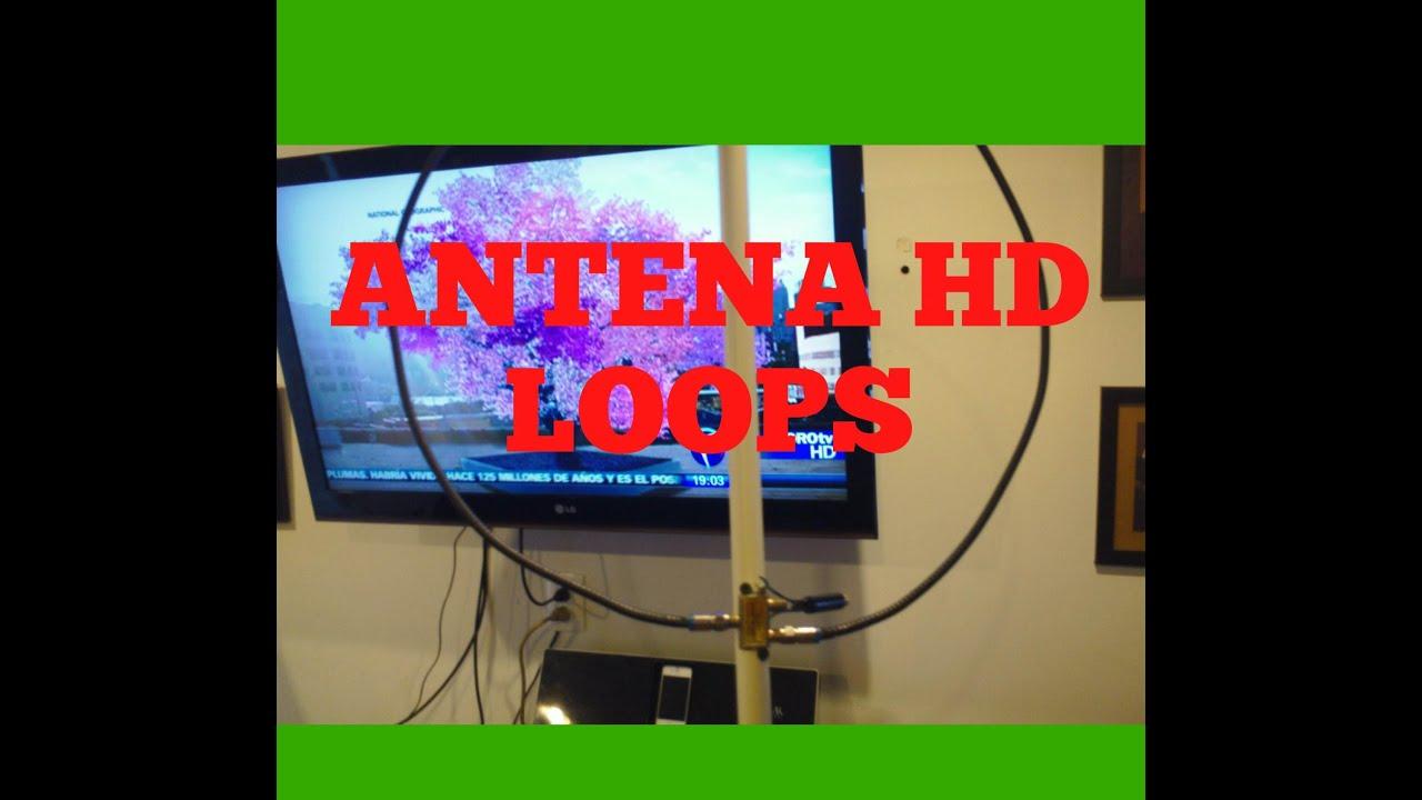 Antena loop hdtv super potente y facil de hacer youtube - Antenas de television ...