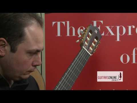 Alhambra Guitar, Model 7P Classic Open Pore-Wongaling by Paul Svoboda-Performed by: Giuseppe Zangari