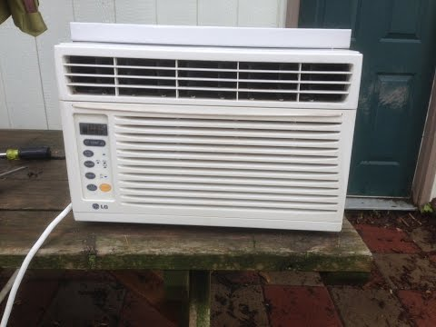 How to clean window air conditioner (part1)