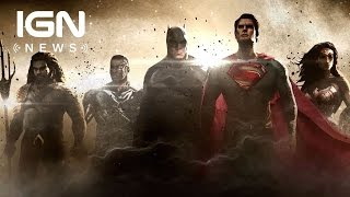 Justice League Logo and Synopsis Revealed - IGN News