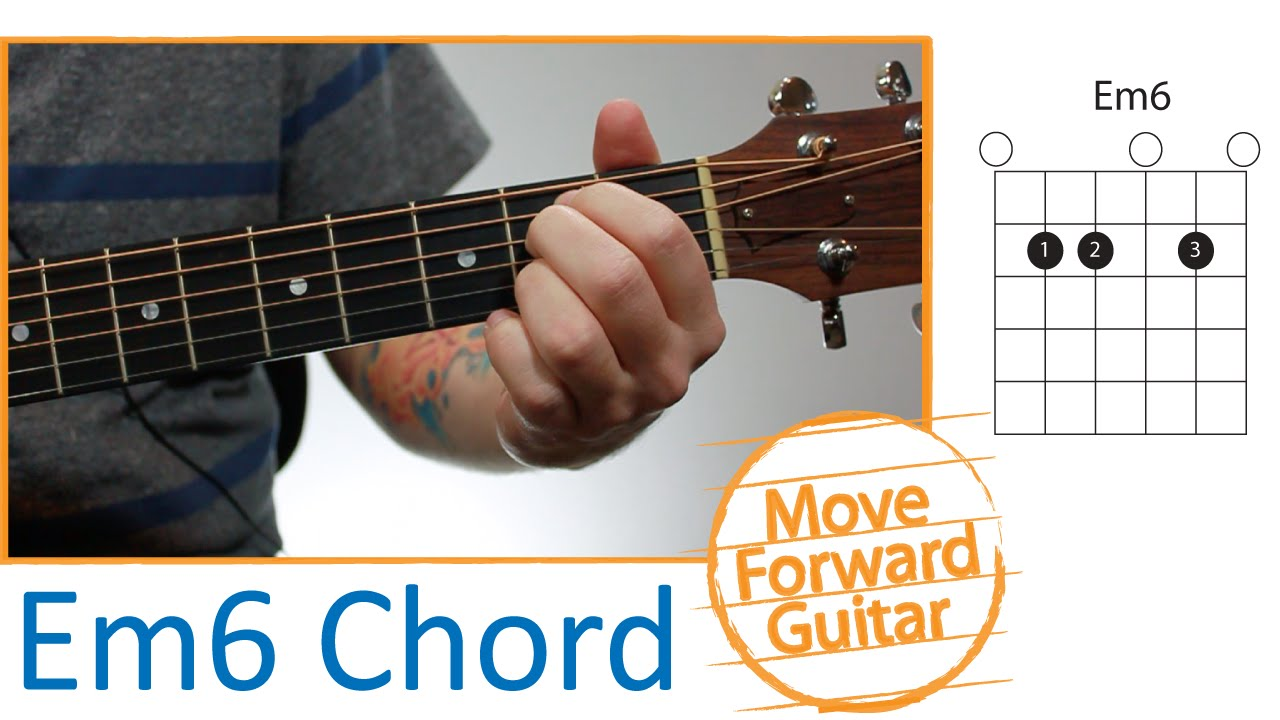 guitar chords for beginners - em6