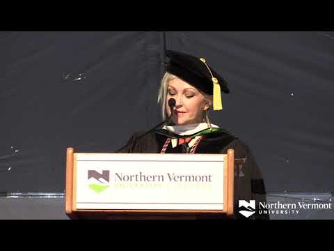 Morris Knight - Cyndi Lauper Delivered Keynote At NVU Commencement Ceremony Saturday