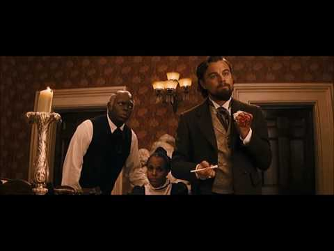 "DJANGO UNCHAINED [2012] Scene: ""The right N*gger""/Calvin snaps."