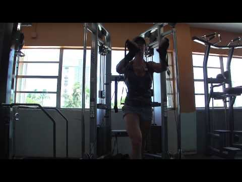 Chest Workout chris-fit.com at The Gym Fort Lauderdale June 2015