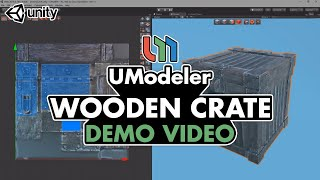 Wooden Crate - UModeler Demo Reel
